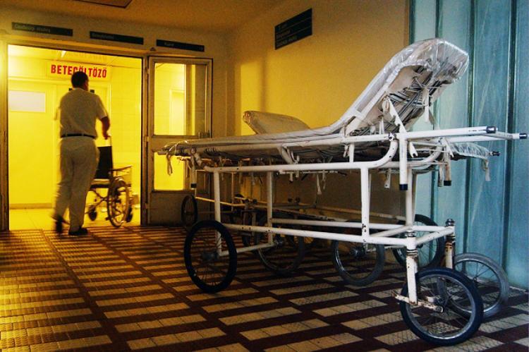 Kórházban