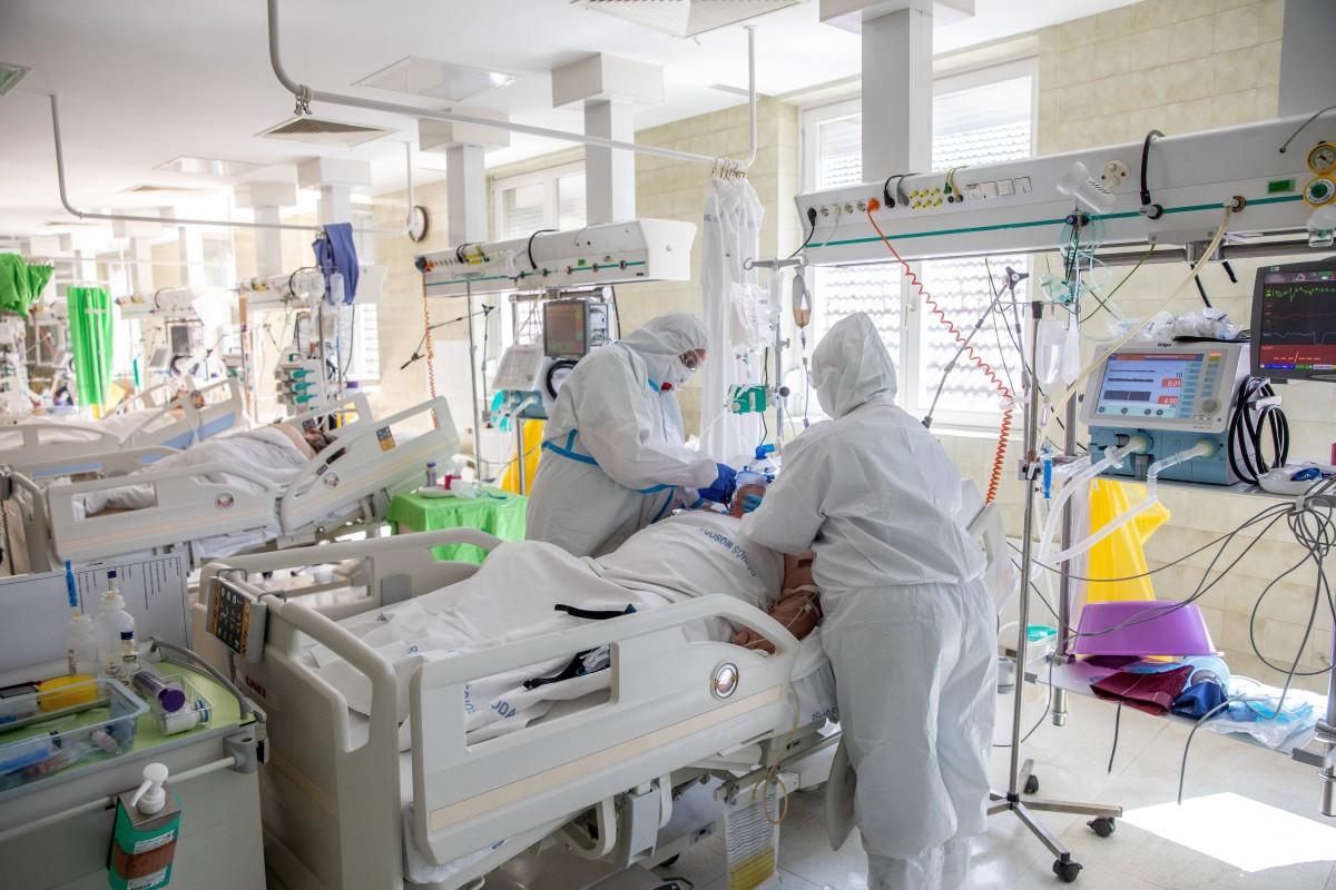 Intenzív osztál,y kórház